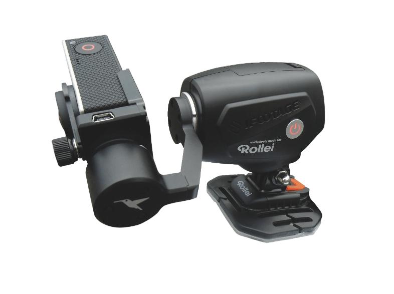 Rollei eGimbal G1 Stabilisator / Steadycam für GoPro Actioncams um 99 € - 36% sparen
