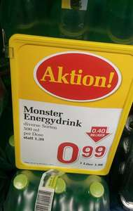 Monster Energy um 0,99€