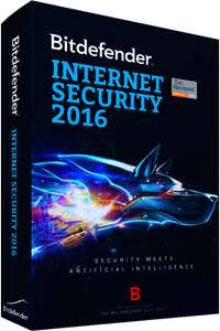 Bitdefender Internet Security 2016 - 6 Monate kostenlos