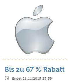 [ibood.at] Apple Zubehör Flash SALE bis -67%