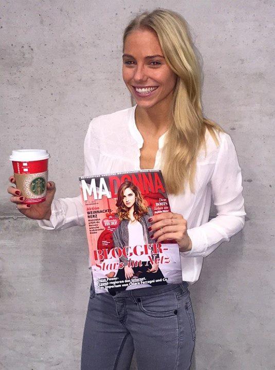 GRATIS Starbucks Weihnachts-Getränk eurer Wahl - mit Madonna Zeitungsbeilage