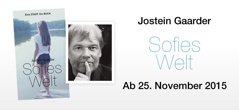 """Wien: 100.000 GRATIS Bücher - """"Sofies Welt"""" von Jostein Gaarder"""