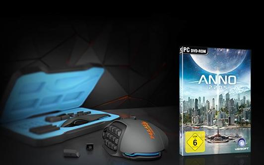 Amazon: Gratis Download Code für die Anno 2205 PC-Vollversion bei Kauf der Roccat Nyth Gaming Maus- Gesamt Ersparnis:  29,37 €