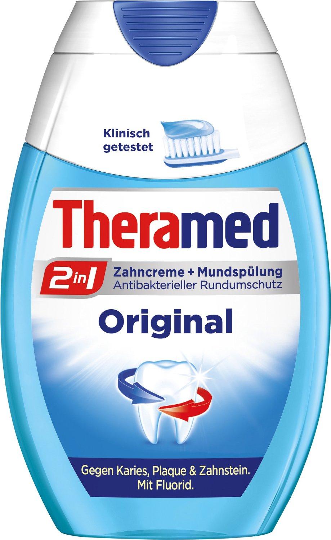 Amazon: Theramed 2in1 Original, 3er Pack (3 x 75 ml) 2,85 € ( Preisvergleich: 5,55€ ) mehr als 50% Ersparnis