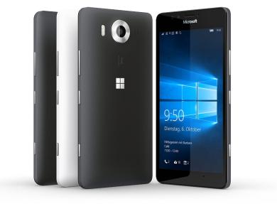 Amazon: Microsoft Lumia 950 Vorbesteller-Aktion: Gratis Speicherkarte + Ladekissen - Nur noch bis 27.11. Schnell zuschlagen