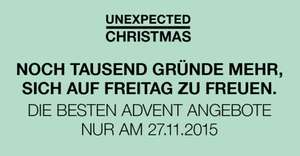 "[SCS] ""Unexpected Christmas"" am 27.11, bis zu 70% Rabatt"