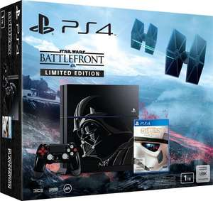 [Saturn.at] SONY PlayStation 4 1TB Star Wars Battlefront LIMITED EDITION (CUH-1216) um 479€