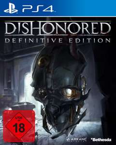 Amazon: Dishonored - Definitive Edition​ (PlayStation 4 / Xbox One) für 21,97€