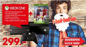 LIBRO & AMAZON: Xbox One 500GB - FIFA 16 Bundle um nur €299,-