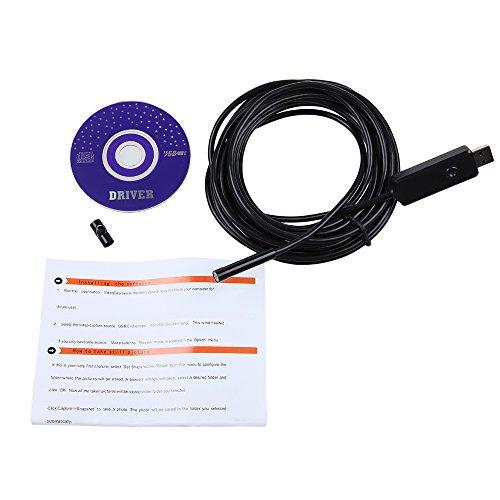 7 mm Digital Endoskop, wasserdicht bis 5 m