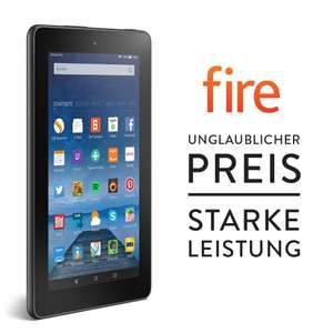Amazon Cyber Monday Woche Fire, 17,7 cm (7 Zoll) Display, WLAN, 8 GB ab 49,99 EUR statt 59,99 EUR