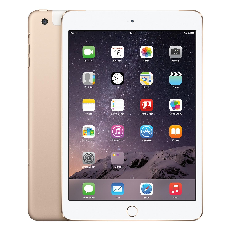 Apple iPad mini 3 (LTE, 64GB) um 399 € - 17% sparen