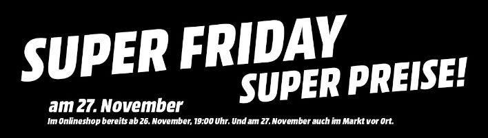 Media Markt - Black Friday Angebote - gültig ab 26.11.2015, 19 Uhr