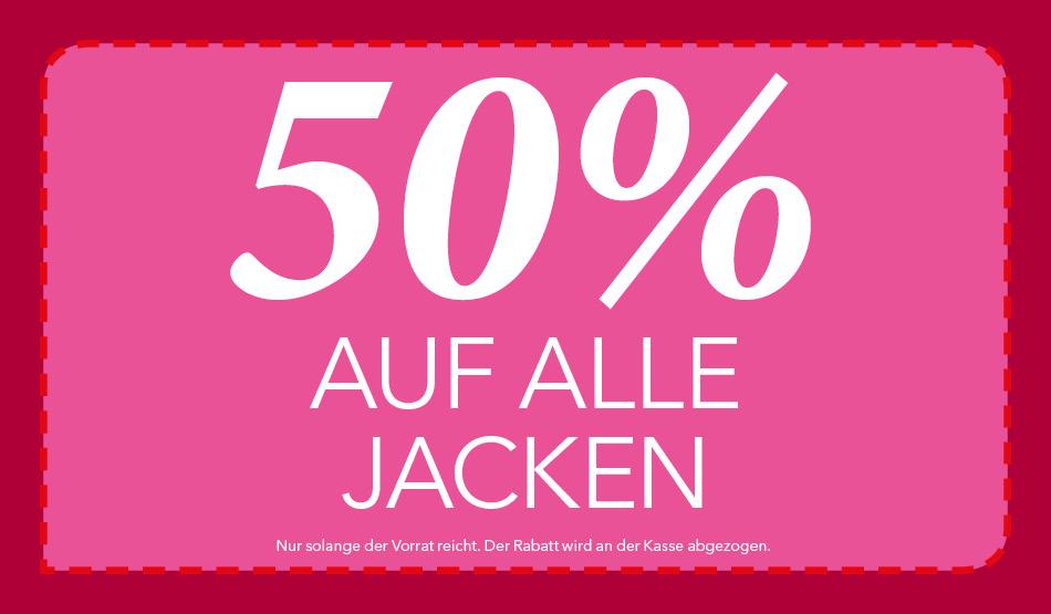 [Takko] 50% auf alle Jacken