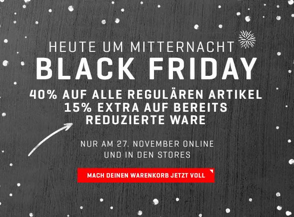 [Puma.at] Black Friday Sale -40% auf alles und zusätzlich -15% auf reduzierte Sachen!