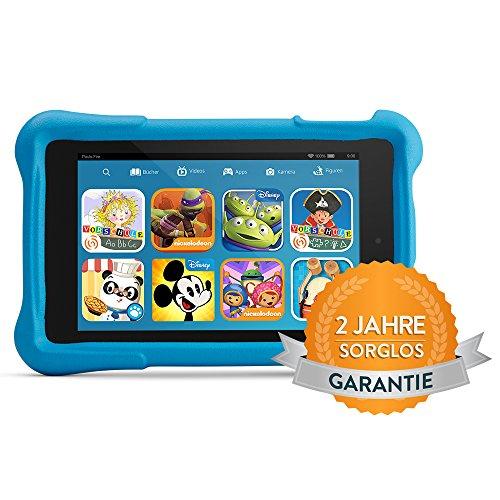 Amazon Black Friday -40 EUR auf Fire HD Kids Edition HD-Display, WLAN, 8GB, Blau Kindgerechte Schutzhülle