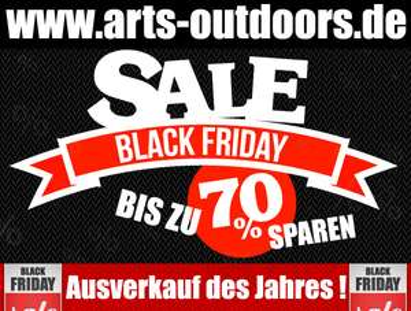 Black Friday - Outdoor Textilien, Schuhe, Longboards, Kinderschlitten -30 bis -70% reduziert
