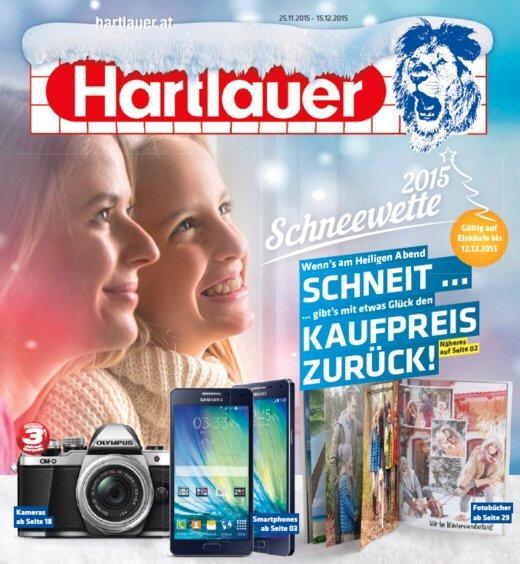 (Info) Hartlauer Schneewette 2015 - schneit es am 24.12. in Wien - 100% Kaufpreis in Bar zurück