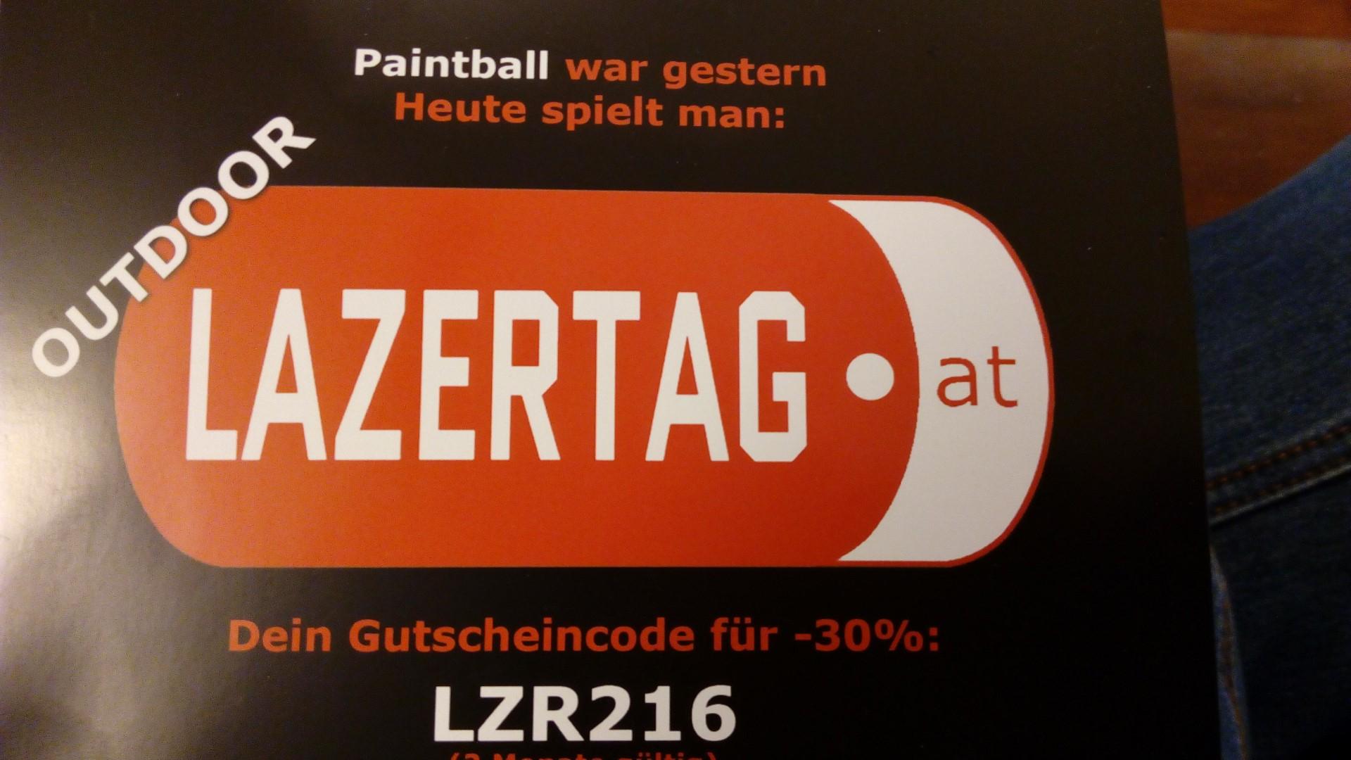 Outdoor-Lazertag mit Gutschein -30% - 20km von Wien