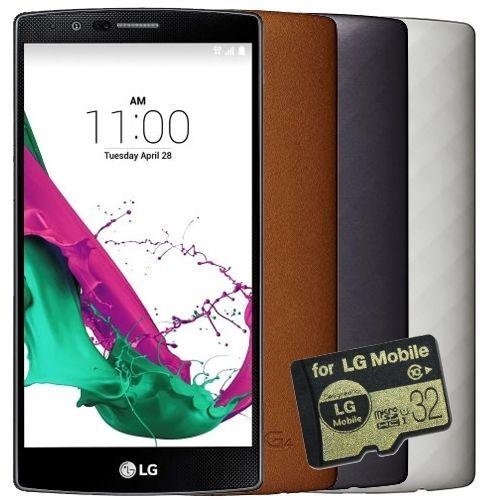 LG G4 H815 32GB in Silber + 32GB MicroSD-Card GRATIS für 389,90 + 8,90 Versand