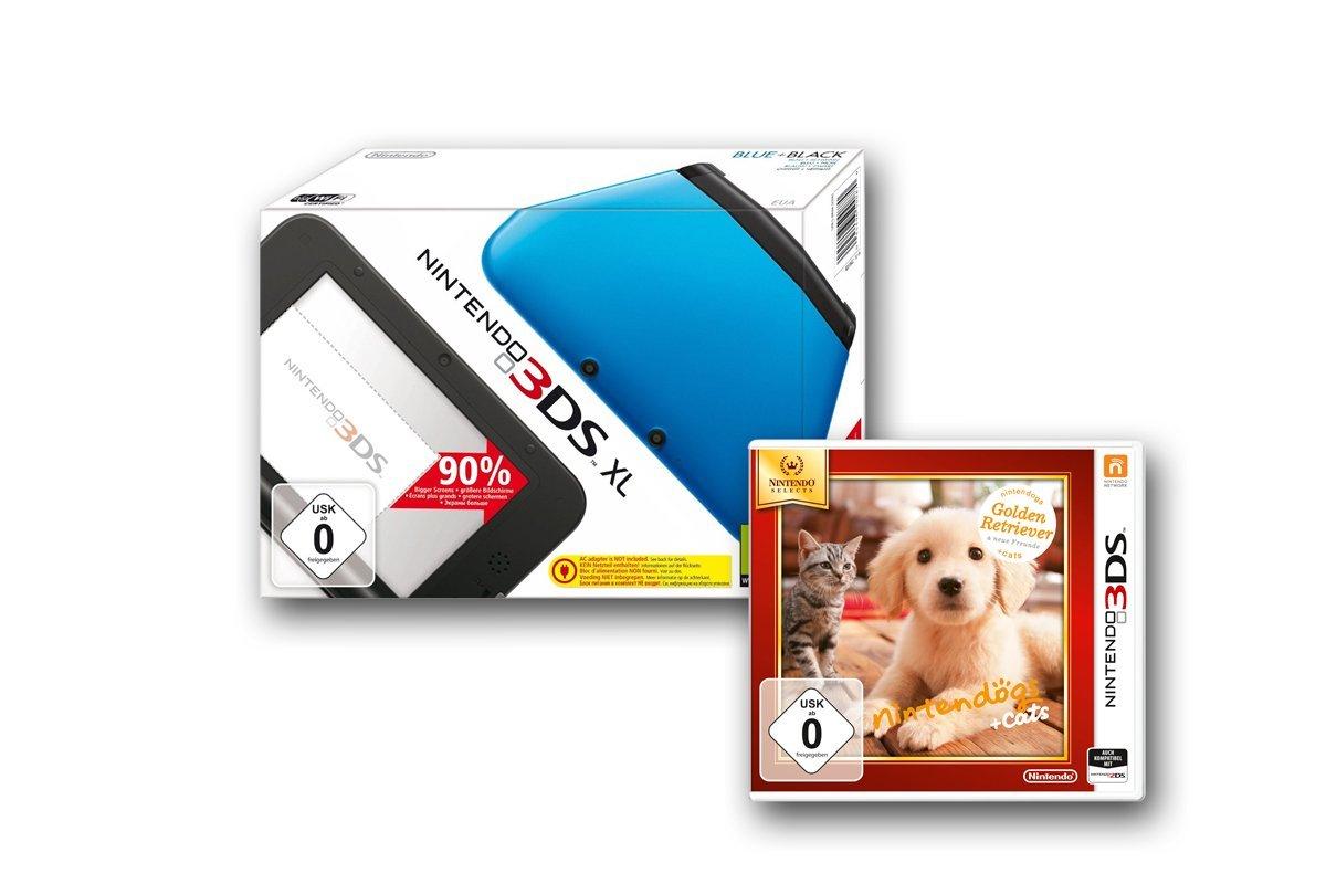 Amazon Cyber Monday Woche Nintendo 3DS XL-Konsolen incl. Spiel um 139,00 € (Preisvergleich ab 180,00 €)