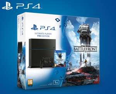Sony PlayStation 4 - 1TB, Star Wars: Battlefront Bundle