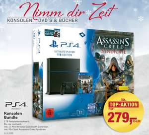 PS4 1 TB inkl. Assassin´s Creed Syndicate & Watch Dogs