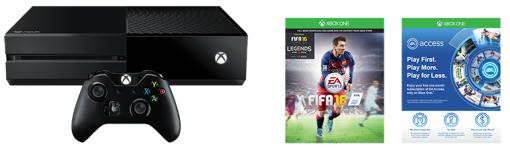 [MediaMarkt.ch] Microsoft Xbox One 500 GB FIFA 16 Bundle