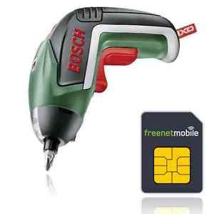 SIM Karte & Bosch IXO V Akkuschrauber