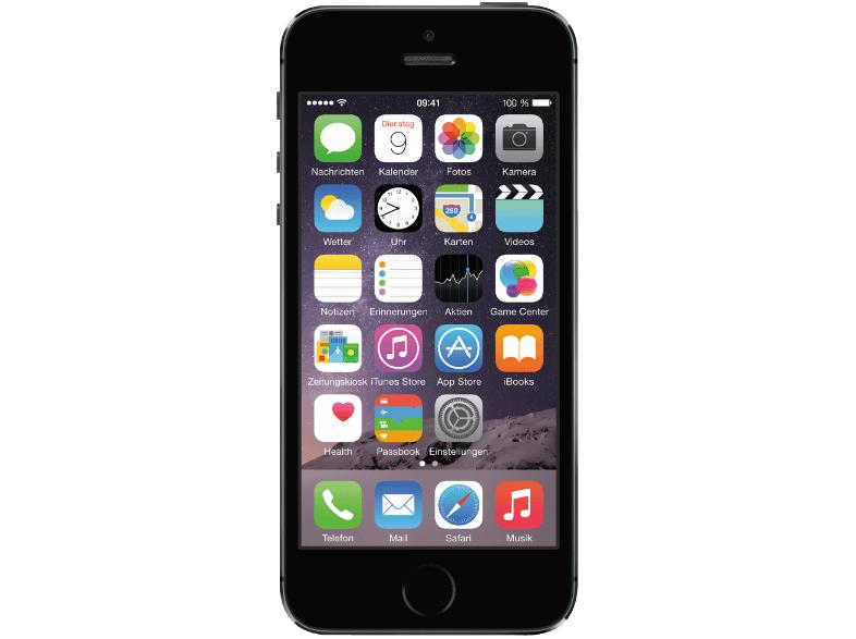 Apple iPhone 5s (16 GB) um 366 € inkl Versand (LogoiX) - neuer Bestpreis - 18% sparen