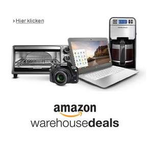 Amazon.de: Warehouse Deals - bis zu 15% Rabatt