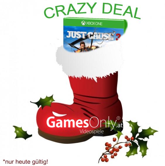 GamesOnly: Just Cause 3 (Xbox One) für 43,98€