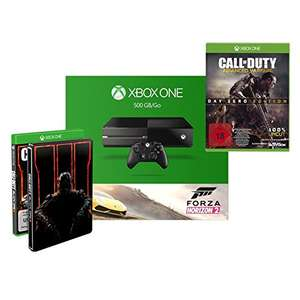 Xbox One 500GB Forza Horizon Call of Duty: Black Ops III  + Call of Duty: Advanced Warfare - Day Zero Edition um 333,00 €