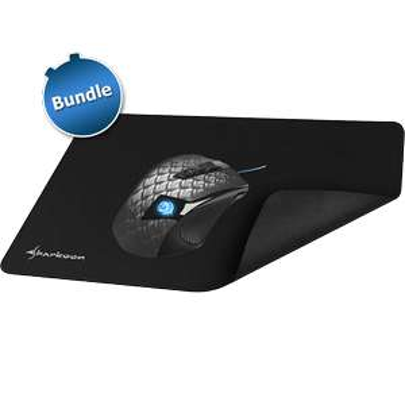 [zackzack.de] Top Gamer Maus Sharkoon Drakonia Black 8200dpi + PAD nur 24,99€!