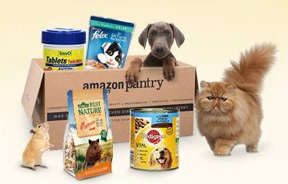 Amazon Pantry -25% Rabatt auf alle Haustierartikel Lieferadresse Deutschland