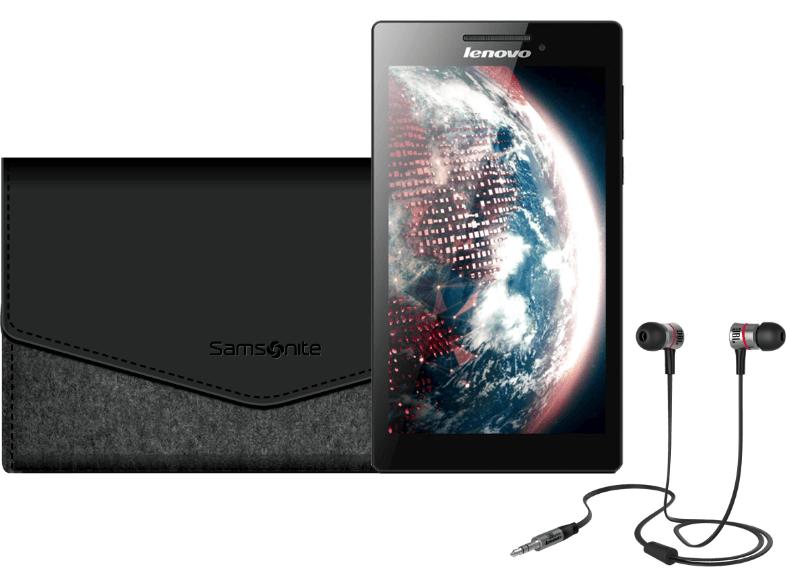 Lenovo Tab 2 8 GByte im Bundle mit JBL Kopfhörer & Samsonite Hülle @ Saturn Tagesdeal