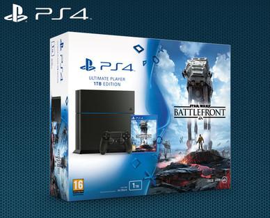 Hofer Slowenien hat die PlayStation 4 (1TB) SW Battlefront Bundle auch am 10.12.2015 ab 8:00!!