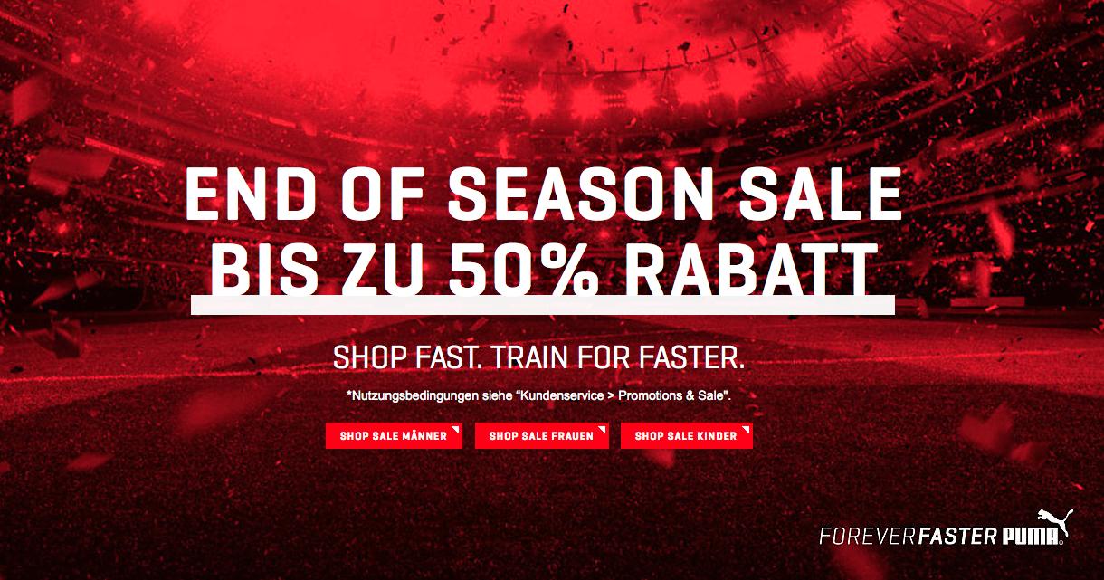 [Puma.at] End of Season SALE bis -50%