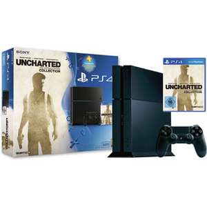 PS4 Bundle UNCHARTED 500GB Serie CUH-1200 + 90 Tage PS Plus-Voucher