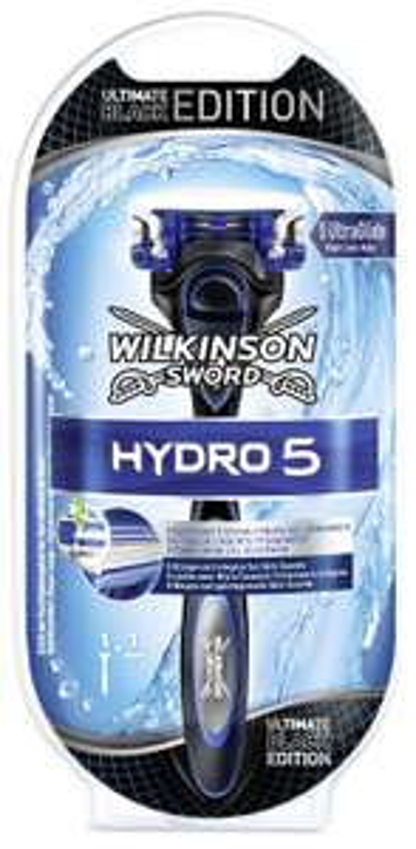 [Amazon.de] Wilkinson Sword Hydro 5 Rasierer mit 1 Klinge in Ultimate Black Edition nur 1,80€