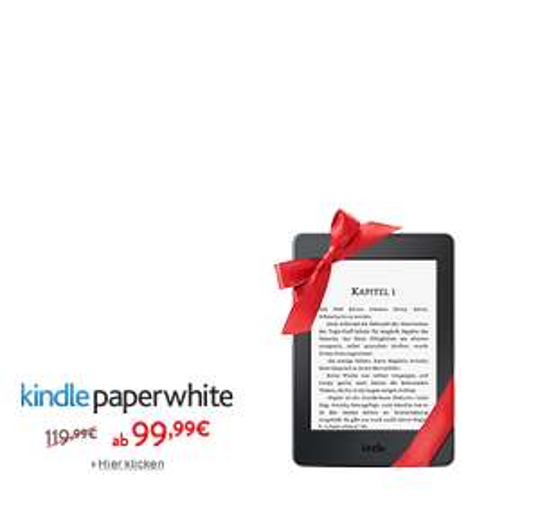 Amazon -20 EUR auf den neuen Kindle Paperwhite bis 22. Dezember
