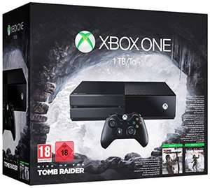 [Amazon.fr] Xbox One 1TB Tomb Raider Bundle zum Bestpreis nur 313,70€