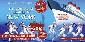 Ich war noch niemals in New York - Musical -30%