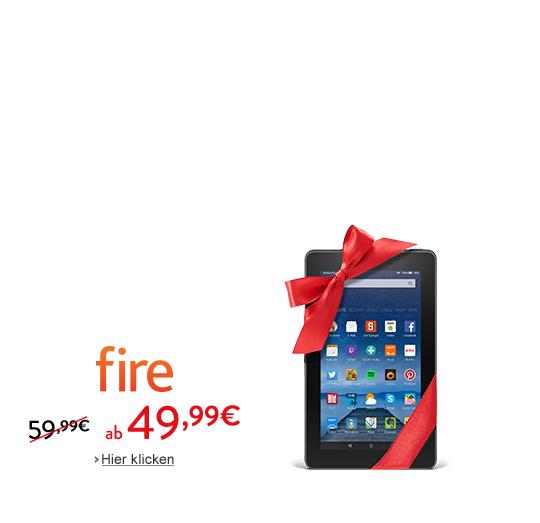 Amazon Kindle  Fire ab 49,99 € statt 59,99 €