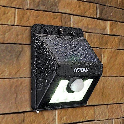 3-in-1 LED-Solarleuchte drahtlose, wetterfest mit Bewegungssensor bei AMAZON