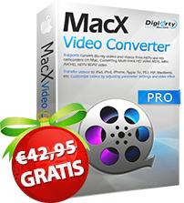 [Gratis] MacX Video Converter mit QSV Hardwarebeschleunigung, 1000 Kopien/Tag