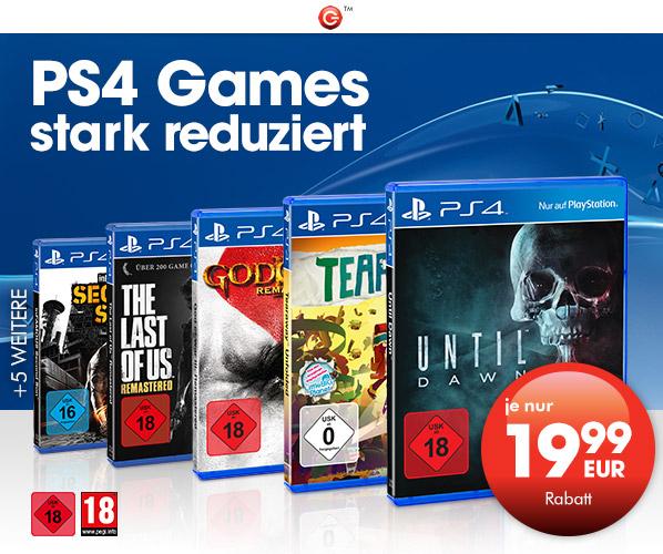 GameStop: PS4 Games für nur 19,99€- u.a. mit Until Dawn