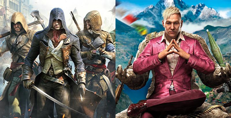[HDGameShop.at] PS4 Spiele Bundle Assassin's Creed Unity + FarCry 4 zusammen nur 36,99€