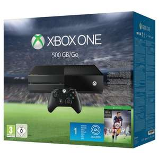 XBox One (500 GB) + FIFA 16 um 244 € - 18% sparen - neuer Bestpreis