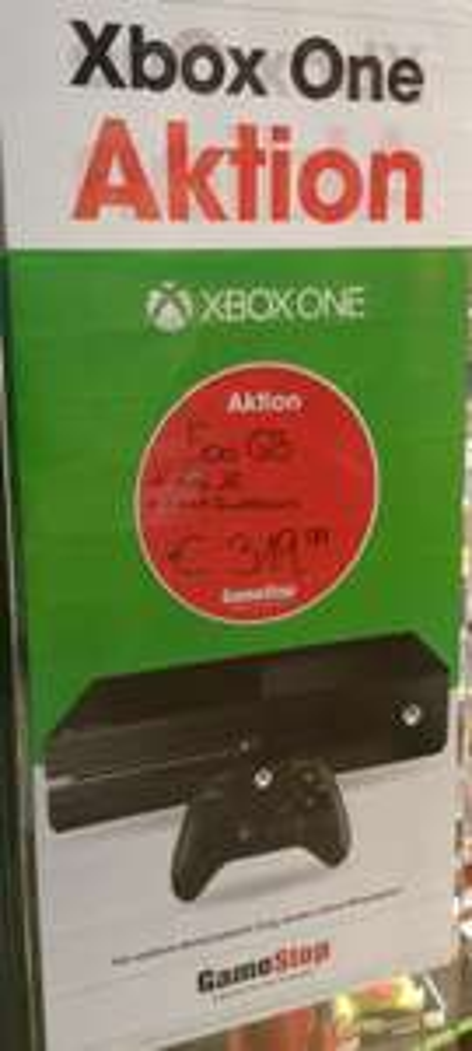 Xbox One Bundle GameStop Offline 319.99,-
